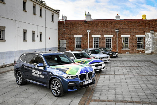 Icons of BMW South Africa, including the first X3 and the last 3 Series. Picture: BMW
