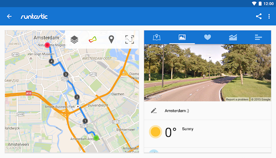 Runtastic Running PRO- screenshot thumbnail