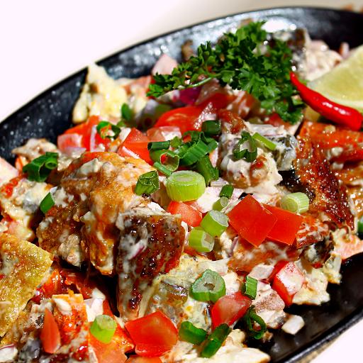 Milkfish Sisig Rice Combo
