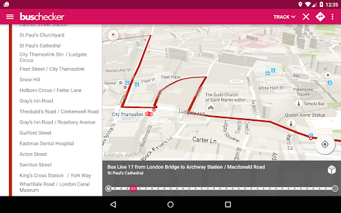 London Bus Checker- screenshot thumbnail