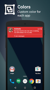 Metro Notifications Screenshot