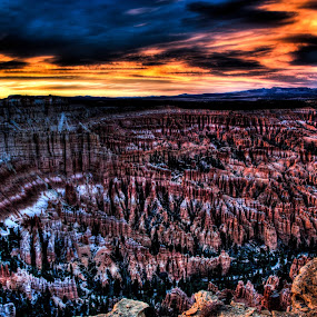 Bryce Canyon National Park by John Krivec - Landscapes Deserts ( bryce canyon national park )