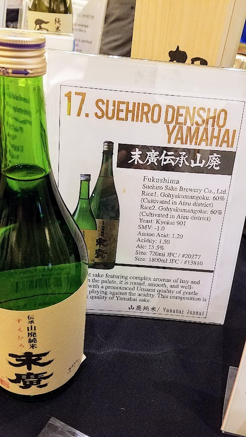 Take photos of the sake you like to remember them - pro tip for Sake Fest 2016