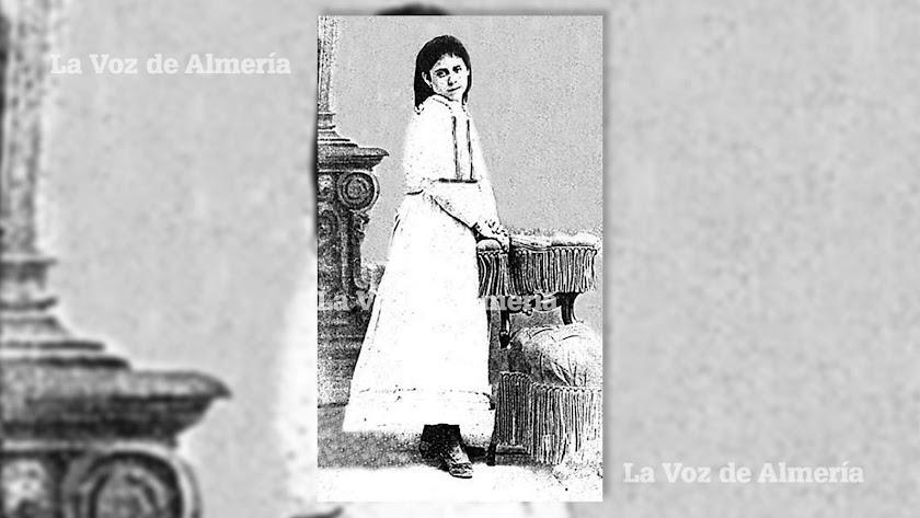 Ventura Ledesma cuando cumplió doce años y estudiaba en el colegio de la Compañía de María. Foto gentileza de A. J. López Cruces.