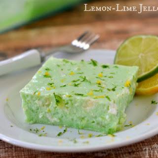 Lemon-Lime Jello Salad a.k.a. Dad's Green Jello.