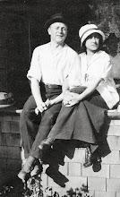 Photo: Mervyn Marks and Celia Heyman 1918