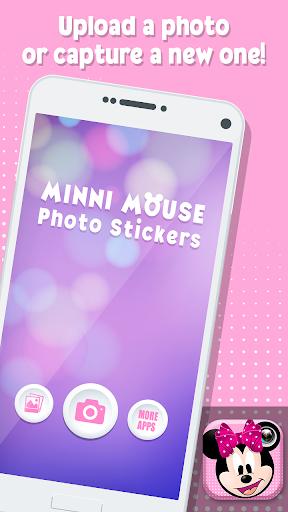 Minni Mouse Photo Stickers 1.0 screenshots 1