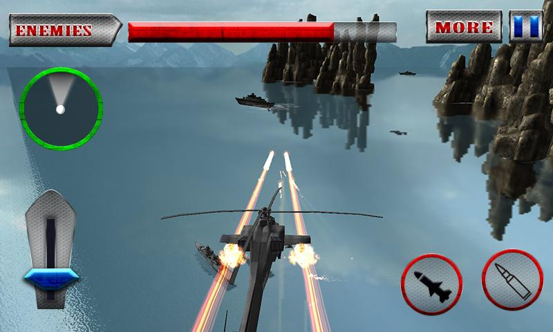 Military Helicopter 3D- screenshot