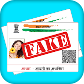 Fake Aadhar Card