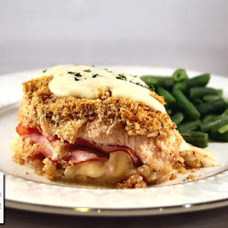 Chicken Cordon Bleu.