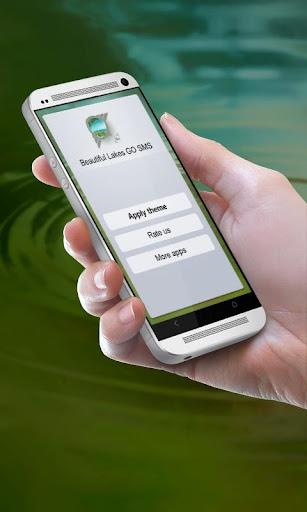 美麗的湖泊 GO SMS