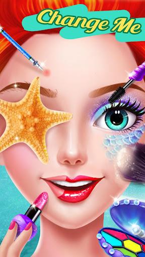 🧜♀️👸Mermaid Makeup Salon astuce APK MOD capture d'écran 1