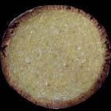 Polish Sauerkraut Custard Pie