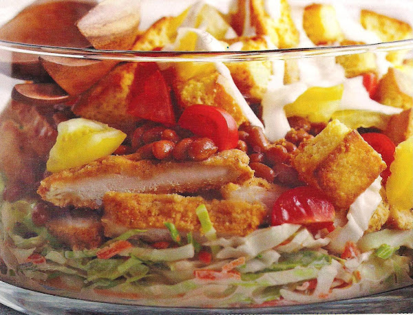 Southern Fried Chicken Dinner In A Bowl Recipe