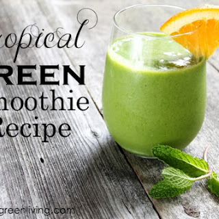 Tropical Greens Smoothie