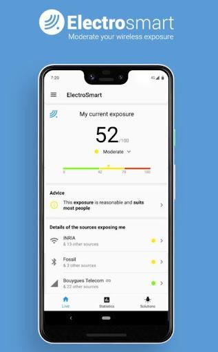 Free EMF Detector, EMF Meter screenshot 1