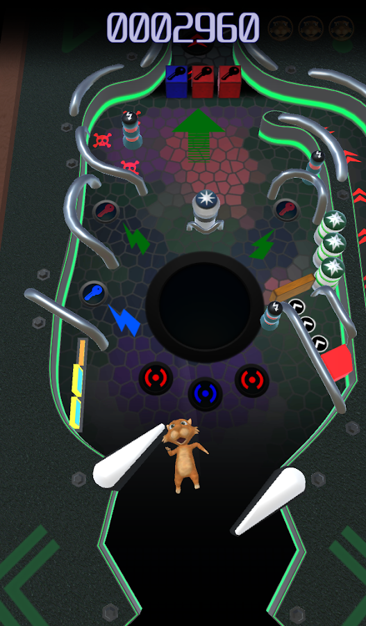 Fat Rat Pinball : animal Pinball- screenshot