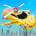 City Taxi Driving Simulator Game: Flying Car Games icon