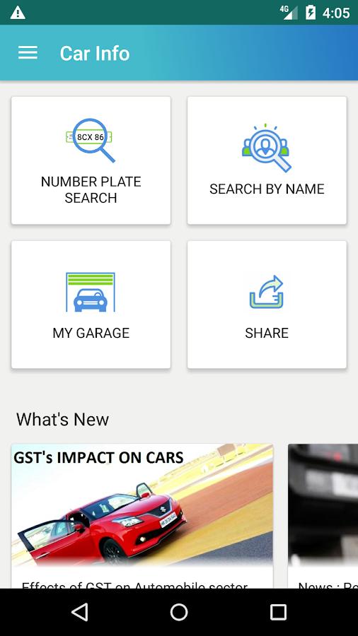 Find car owner using the registration number  Instantly