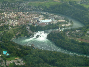 Photo: The Rhine Falls, the biggest waterfall in Europe http://www.swiss-flight.net