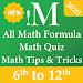 inMath — All Math Formula, Math Quiz & Tricks icon