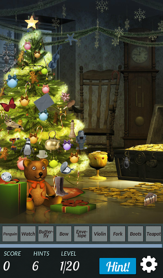 Hidden Object - Christmas Tree- screenshot