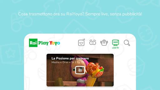 RaiPlay Yoyo 1.0.5 screenshots 1