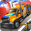 Heavy Car Transport Truck 16 icon