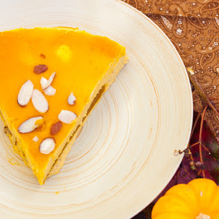 Pumpkin Cheesecake with Pumpkin Gelatin Filling (Gluten-Free) Recipe