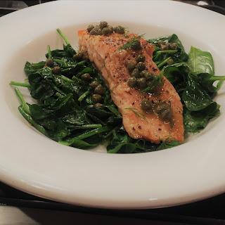 15 Minute Pan Seared Salmon.