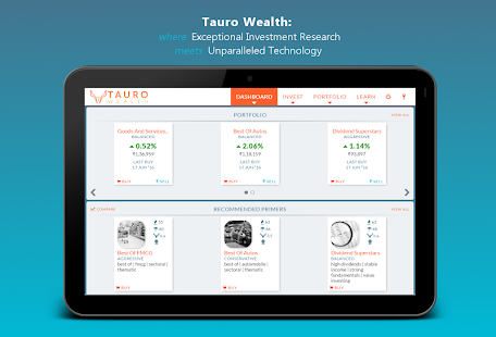 Tauro Wealth - Invest in India- screenshot thumbnail