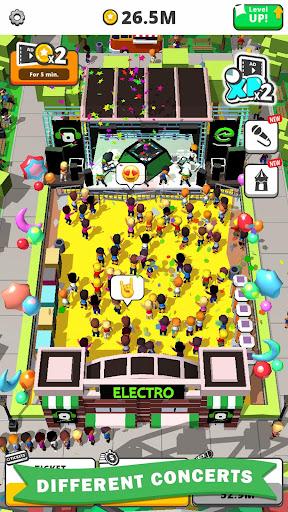 Télécharger Idle Concert apk mod screenshots 3