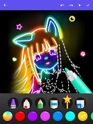 Draw Glow Comics APK screenshot thumbnail 14