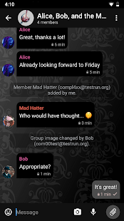 Delta Chat Screenshot