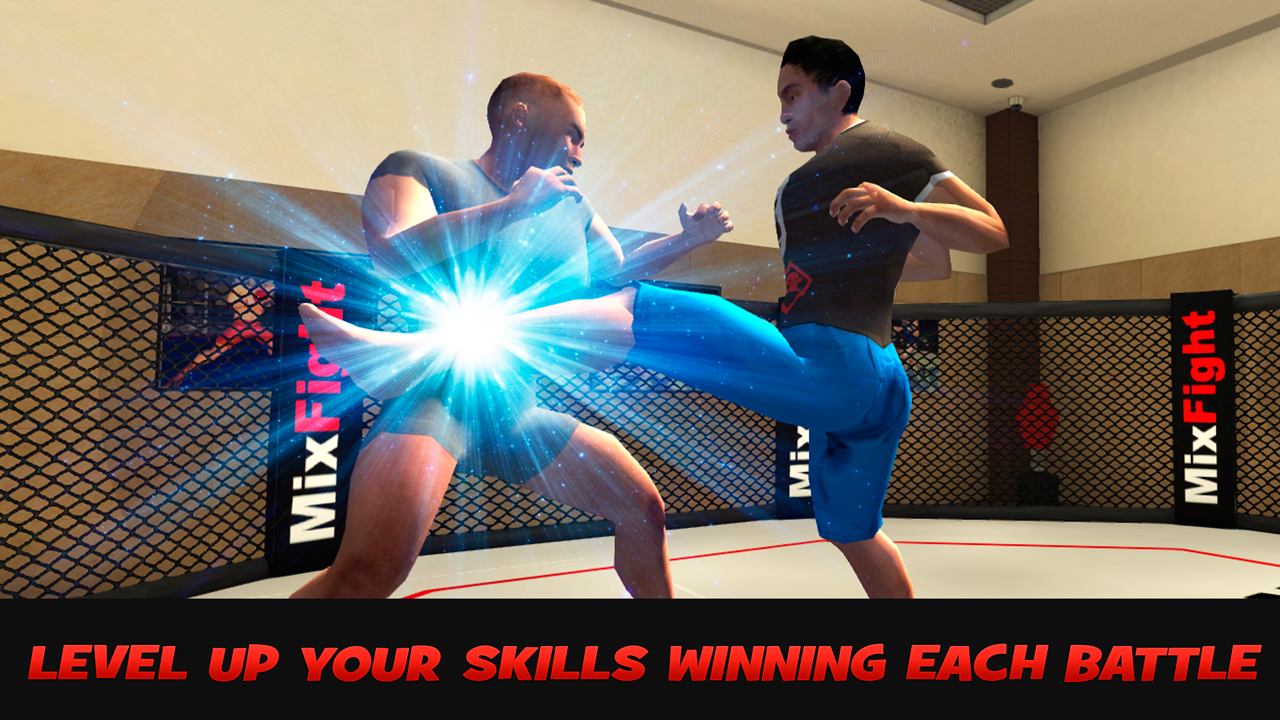 MMA Sports Fighting 3D- screenshot