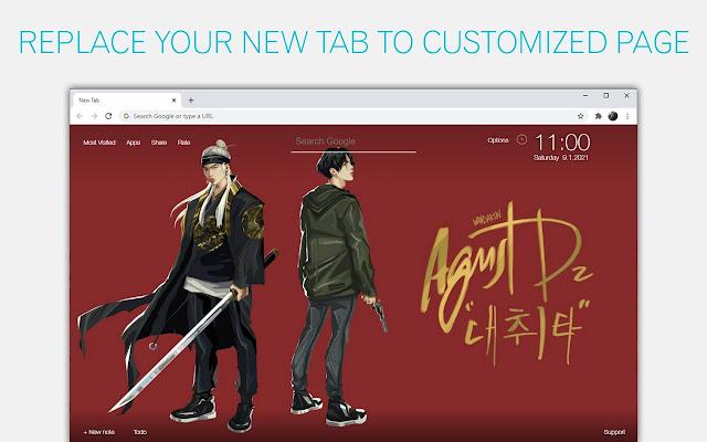 BTS Art Wallpaper HD BTS Custom New Tab