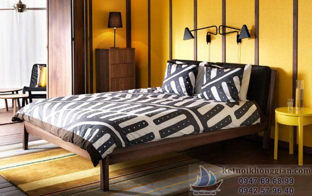 chọn màu phòng ngủ hợp lý, thiết kế phòng ngủ