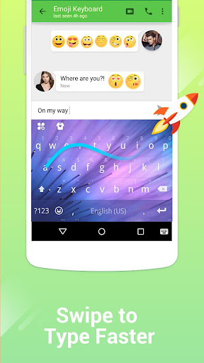 Kika Keyboard - Emoji, GIFs screenshot 4