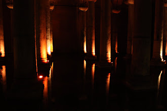 Photo: Day 114 - The Pillars in The  Basilica Cistern #2
