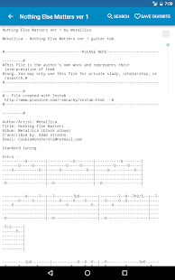 Achording Guitar Tabs & Chords- screenshot thumbnail
