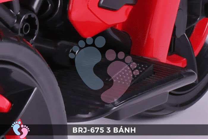 Xe moto điện trẻ em BRJ-675 3 bánh 18