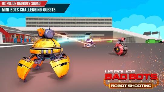 US Police Futuristic Robot Transform Shooting Game 5