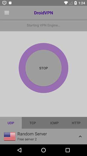 DroidVPN - Android VPN screenshot 2