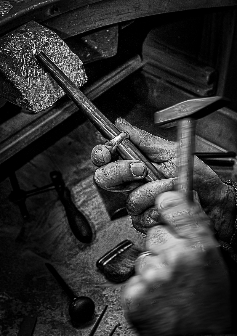 The goldsmith... di Mariano Romani