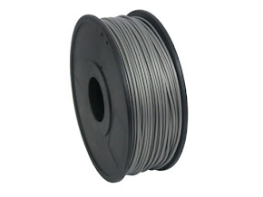 Silver ABS Filament - 3.00mm