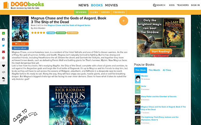 Dogobooks chrome web store the 1 destination for book recommendations for young readers see what kids are saying at dogobooks fandeluxe Gallery