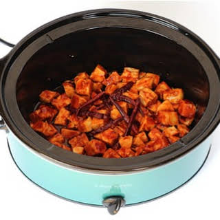 Crock Pot General Tso Chicken.