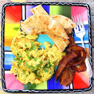 Akuri Scrambled Eggs.