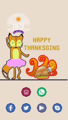 android A Happy Thanksgiving Day Screenshot 0