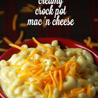Creamy Crock Pot Mac 'n Cheese.
